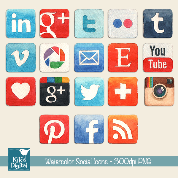 watersocialicons