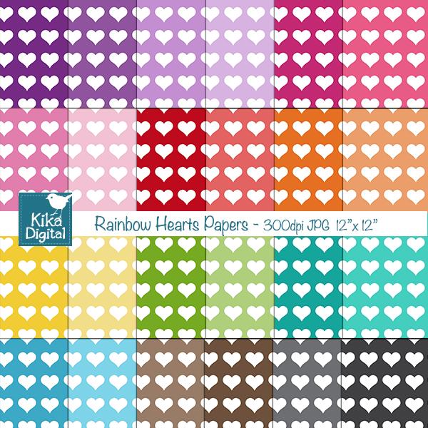 rainbowheartspapers