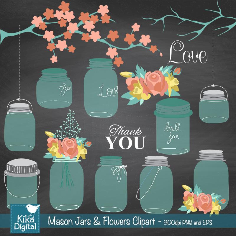 KEjars-flowers-clipart