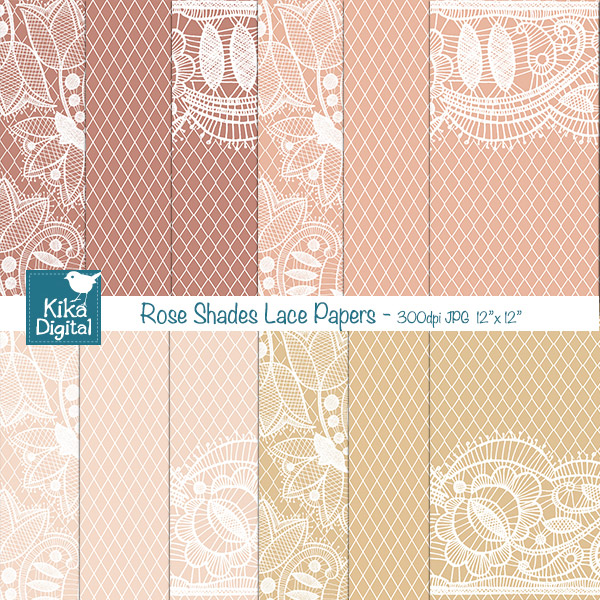 KErose-lace-papers