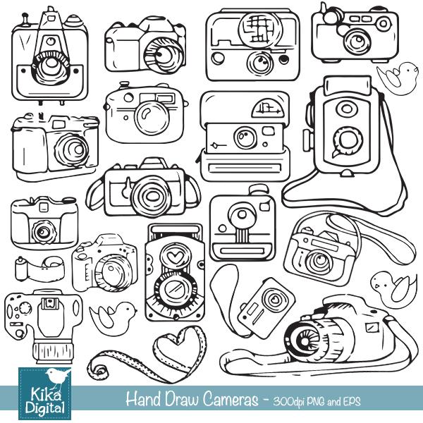 KEhand-draw-cameras