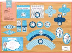 Frozen REF kit01 - R$ 79,90 17 peças