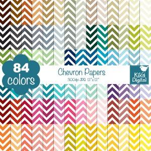 KErainbow-chevron-papers
