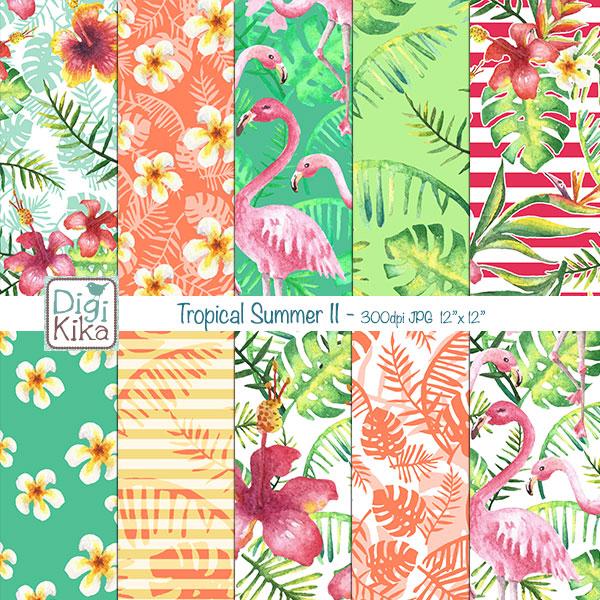 DKtropical-summer-papersII